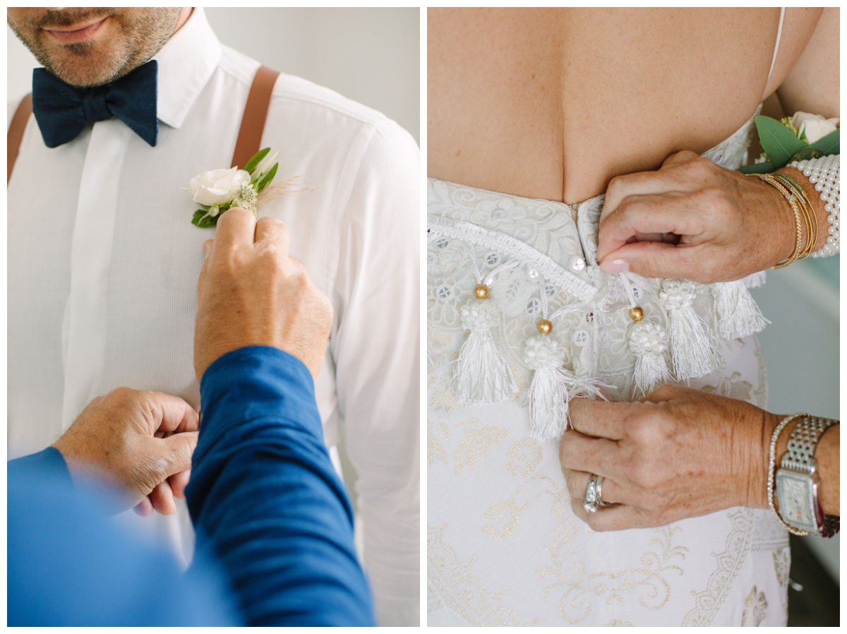 Florida Keys bride and groom