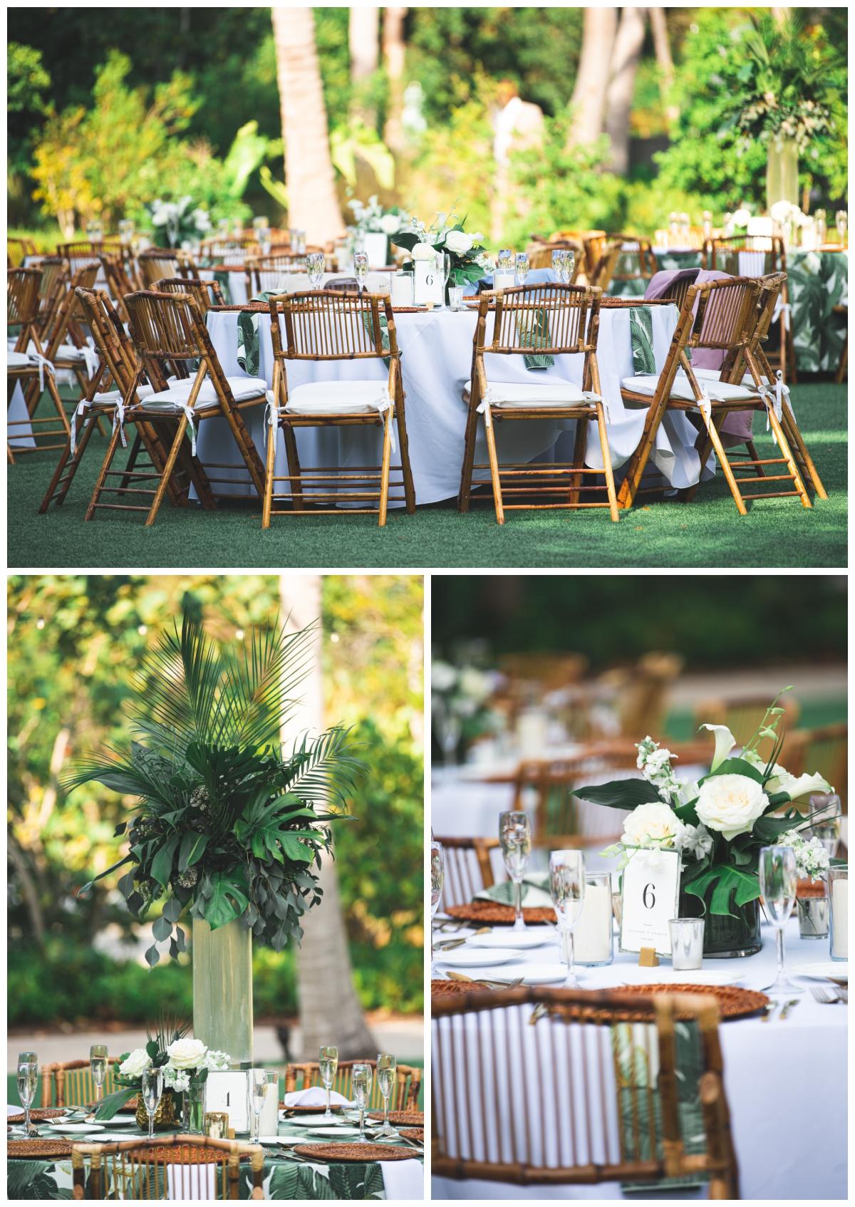 Green Florida wedding